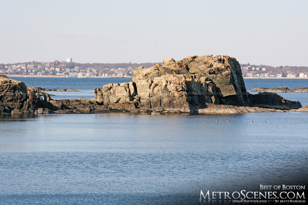 Boston coastline