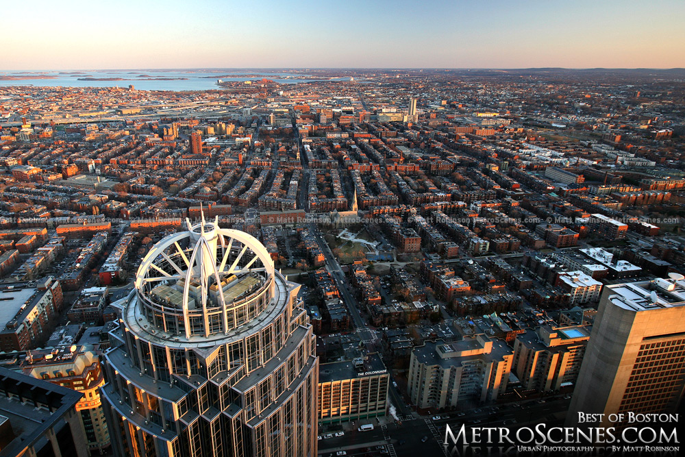 South Boston viewed from the Prudential Building