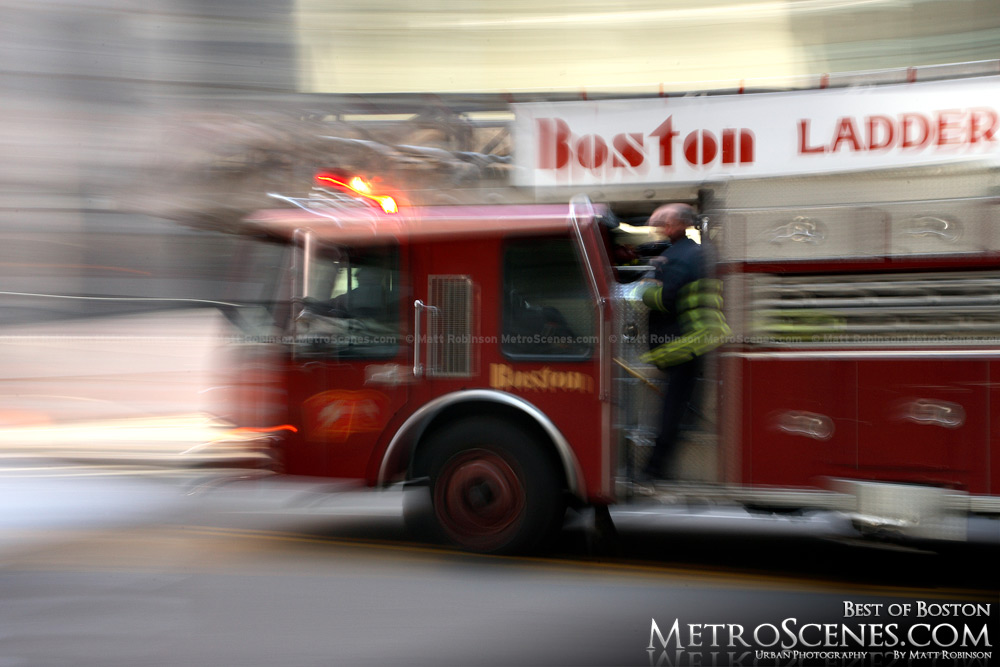 Boston Ladder repsonding