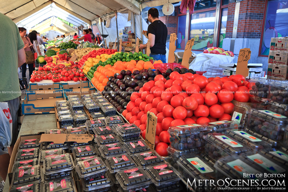 Produce at Haymarket Boston