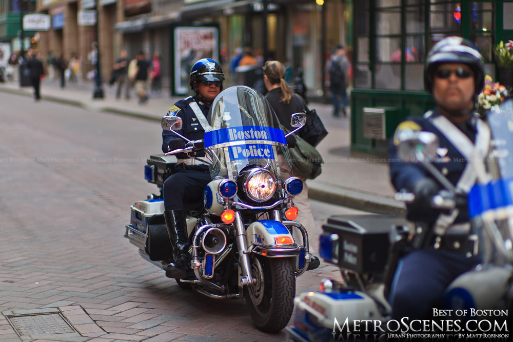 Boston Motorcycle Police