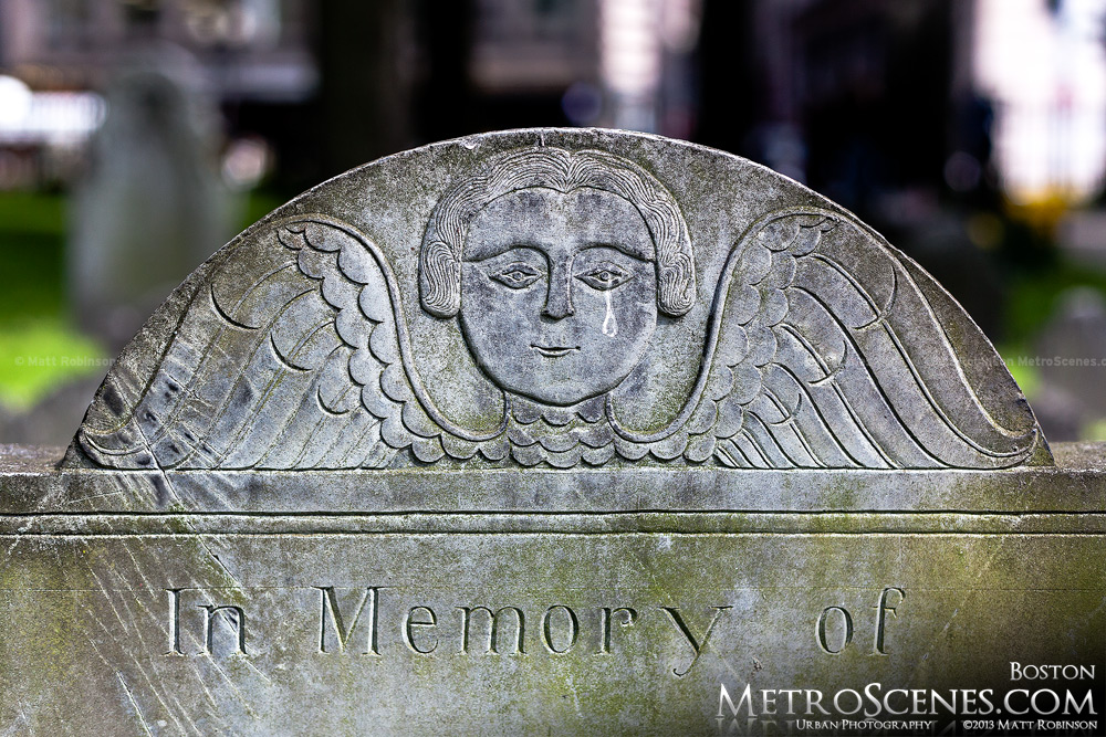 Headstone at Granary Burying Ground