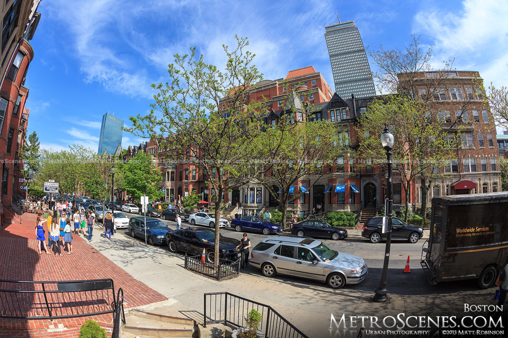 Newbury Street in Back Bay