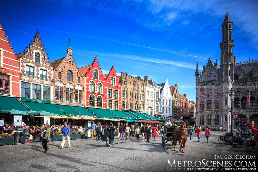 Markt Square in Bruges