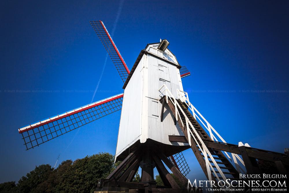Koelewei windmills Bruges, Belgium