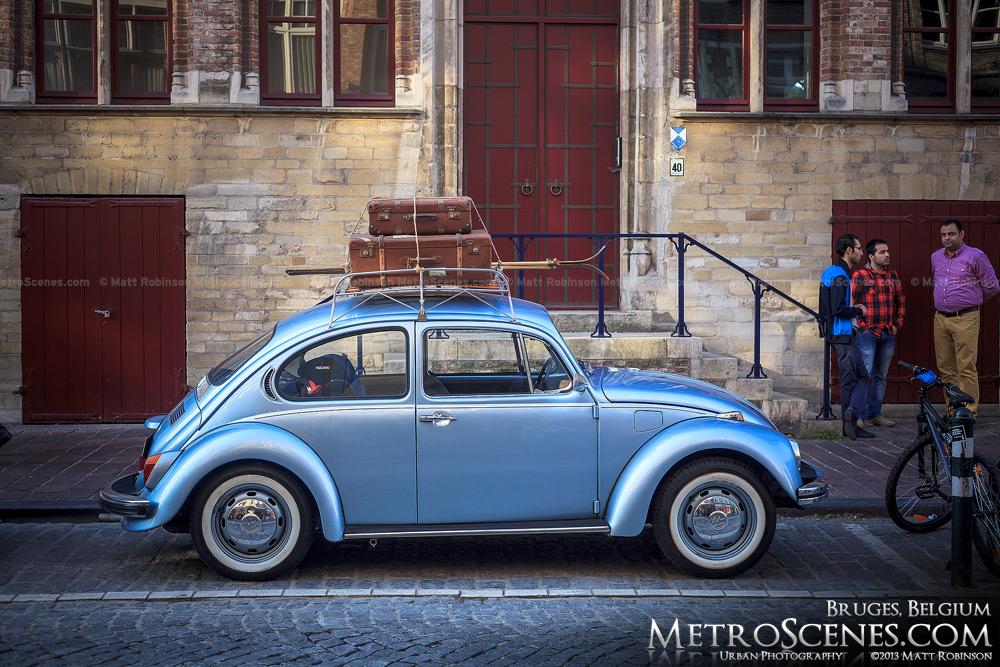 Volkswagen Beetle in Bruges, Belgium