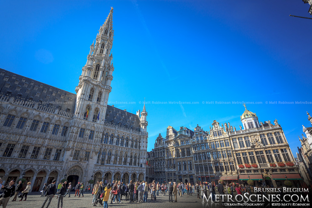 Brussels Grand-Place Grote Markt