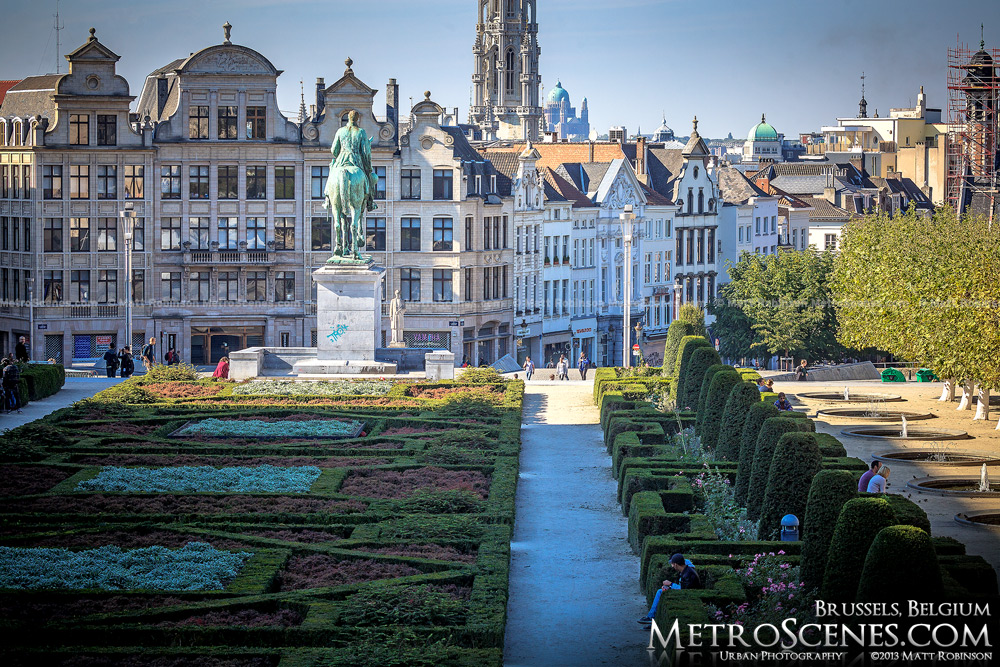 Mont des Art, Brussels
