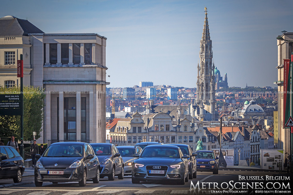 Skyline of Brussels