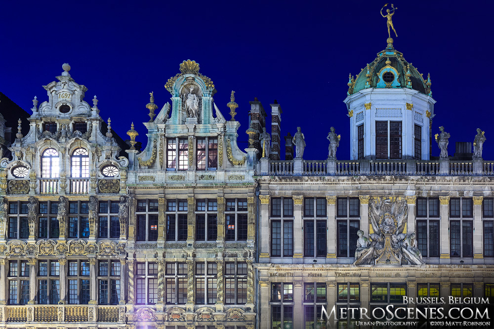 Grand-Place Guildhalls