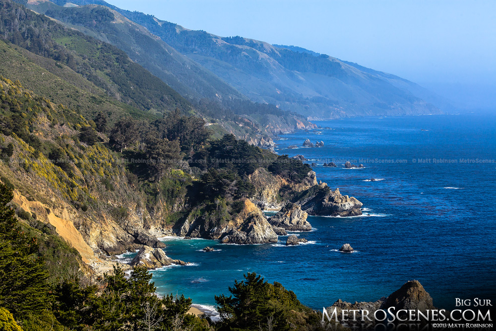 Pacific Coast in Big Sur