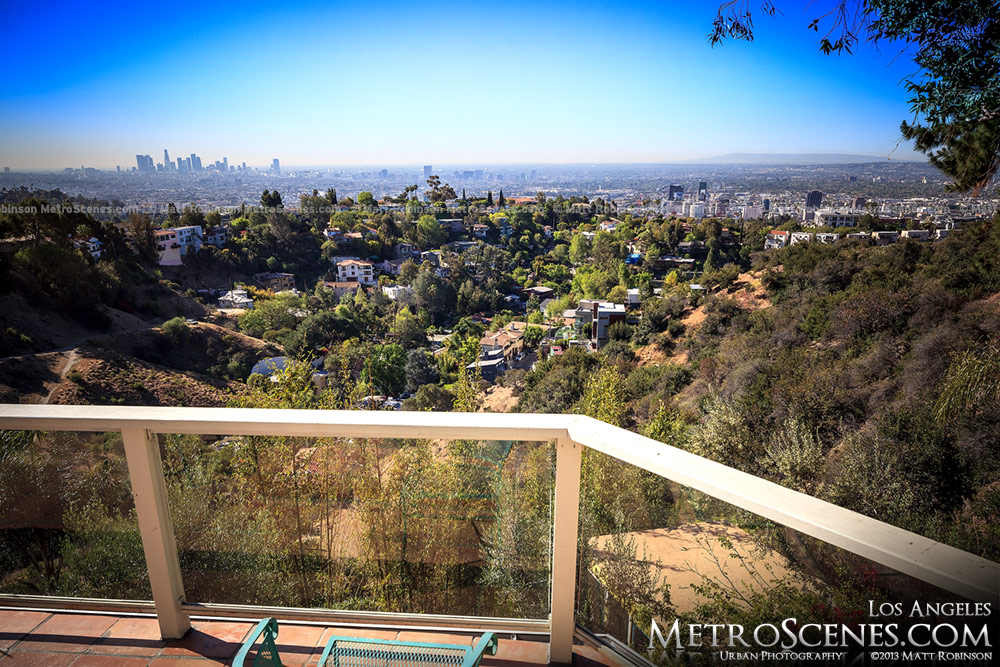 Los Angeles Skyline Airbnb