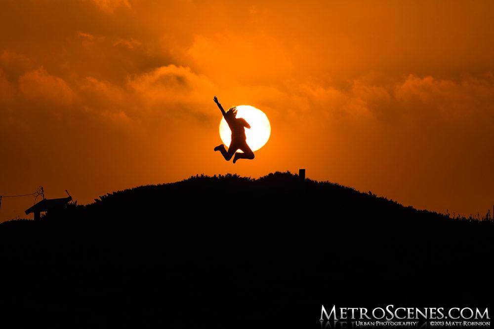 Sunset at Monterey, California