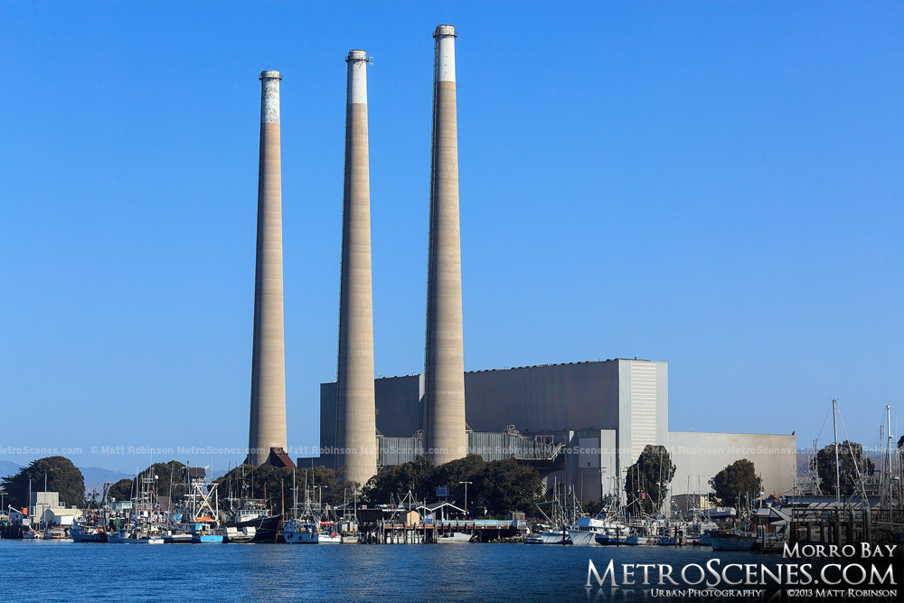 Power Plant in Morro Bay