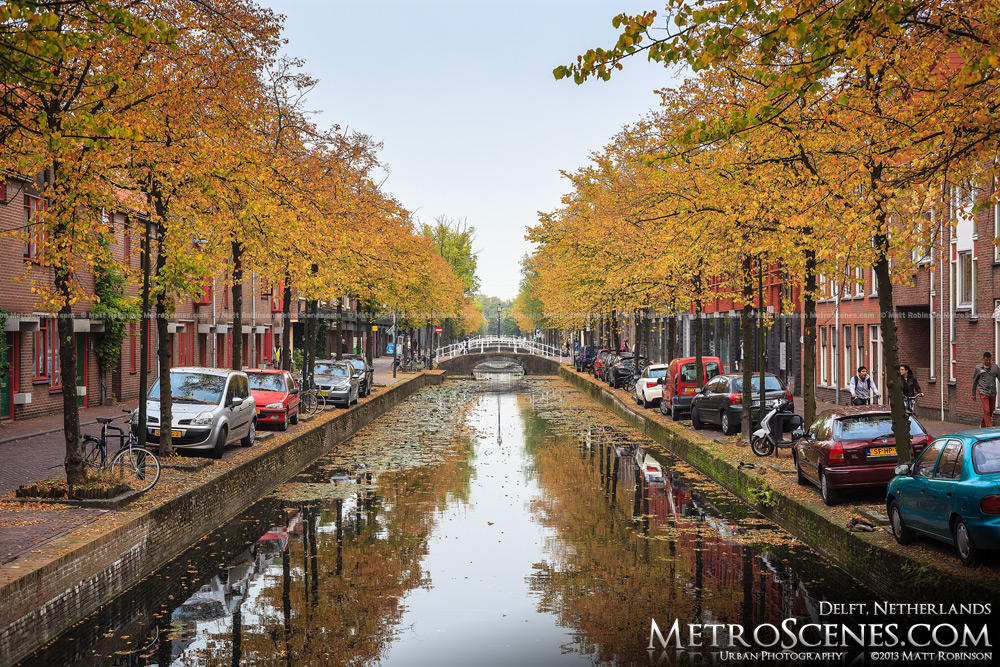 Fall in Delft, The Netherlands