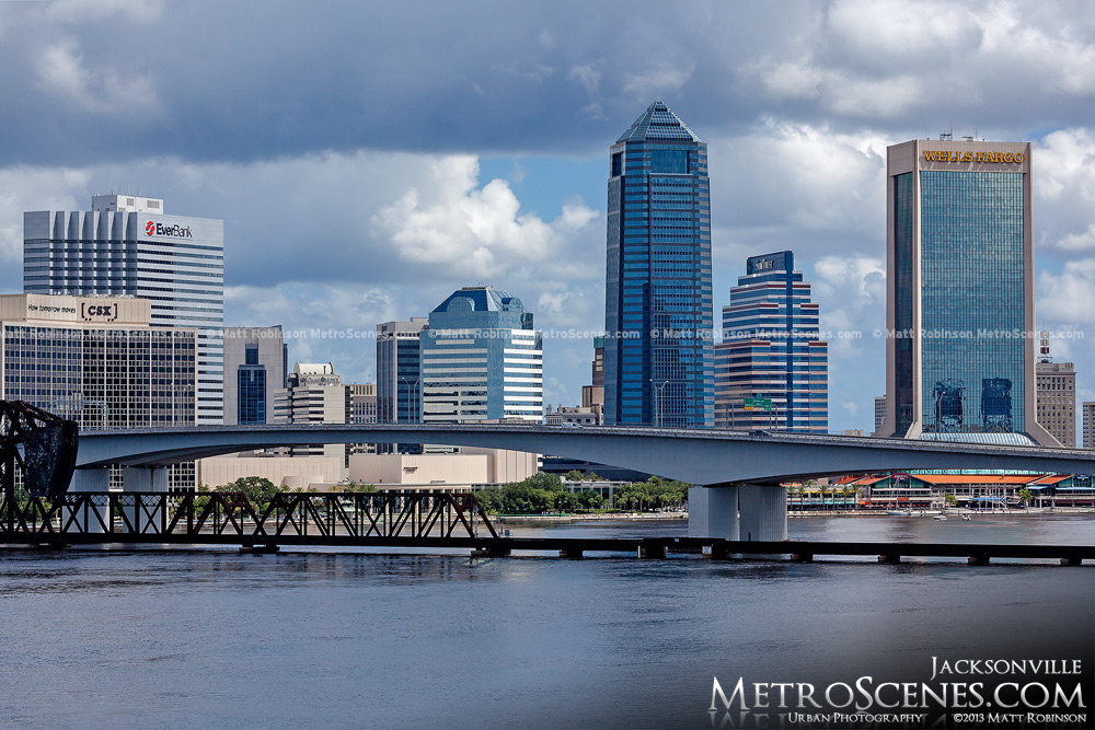Jacksonville from Fuller Warren Bridge