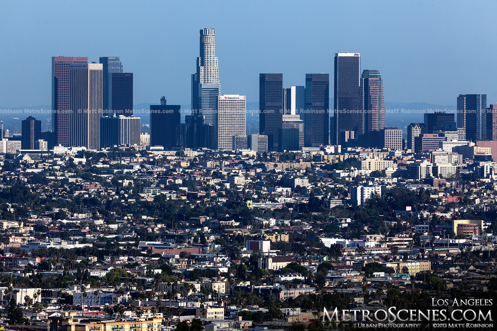 Los Angeles Skyline from the Hollywood Hills