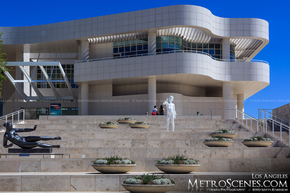 Entrance at the Getty Center