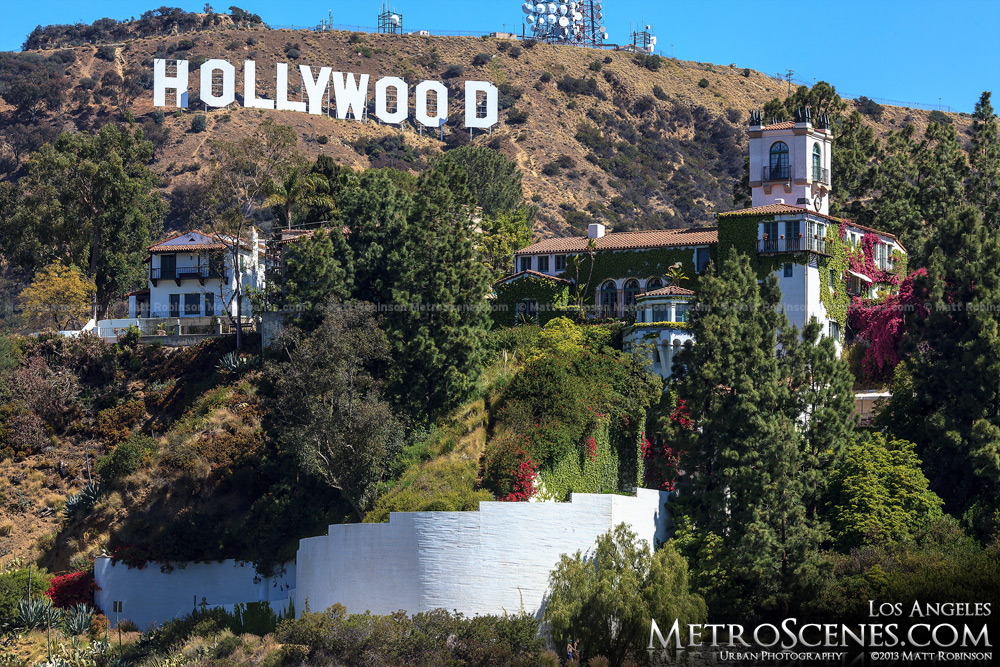 Los Angeles Mansion with Hollywood