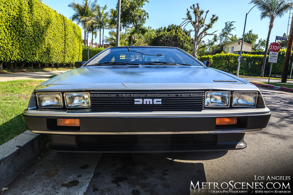 AMC DeLorian seen in Los Angeles