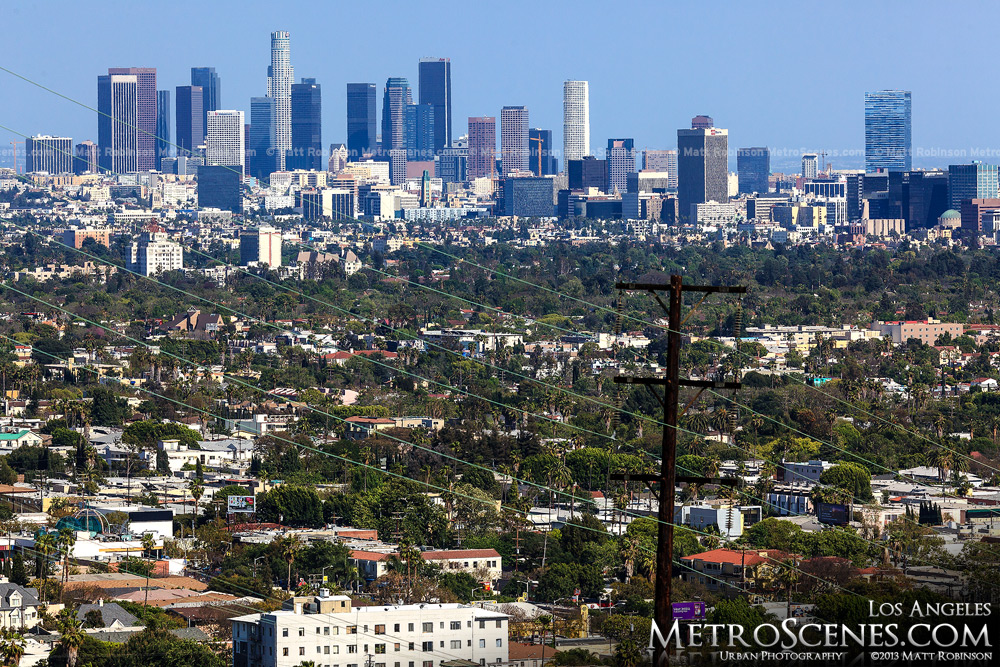 LA Skyline from West Hollywood