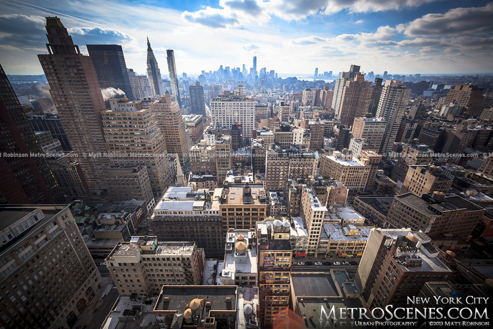 Lower Manhattan from Tower 31
