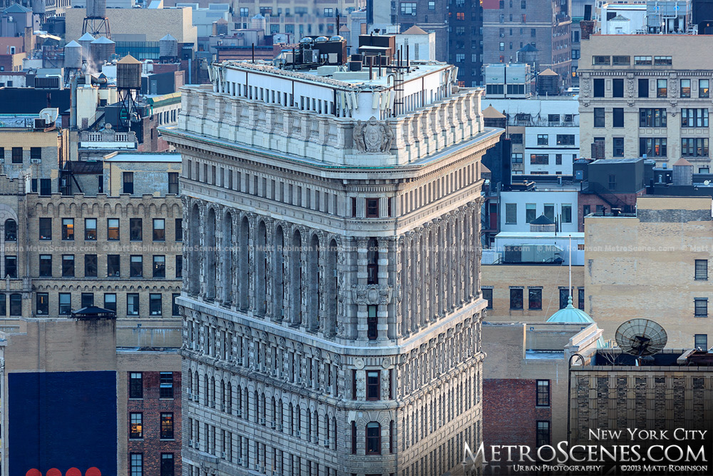 Flatiron Building from Tower 31
