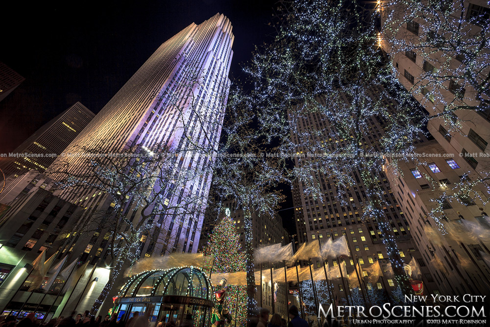 30 Rockefeller Center and Christmas Lights