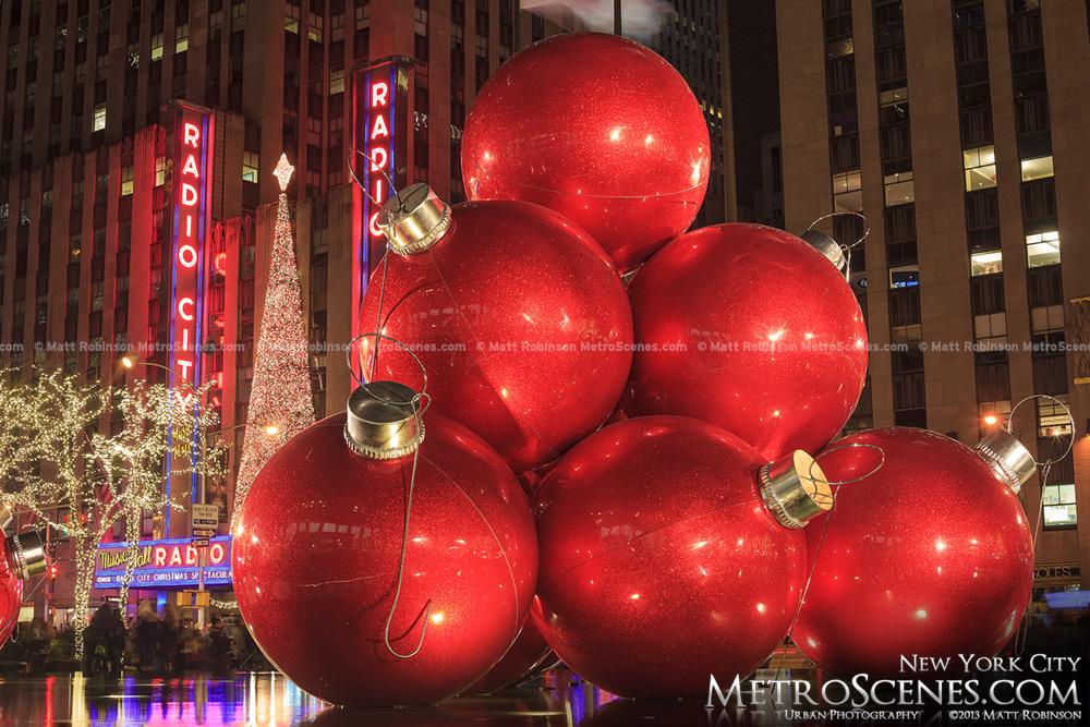 1251 Sixth Avenue Christmas Ornaments