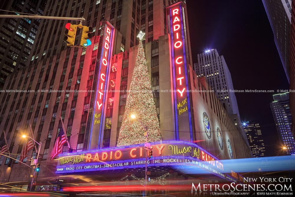 Christmas Tree on Radio City