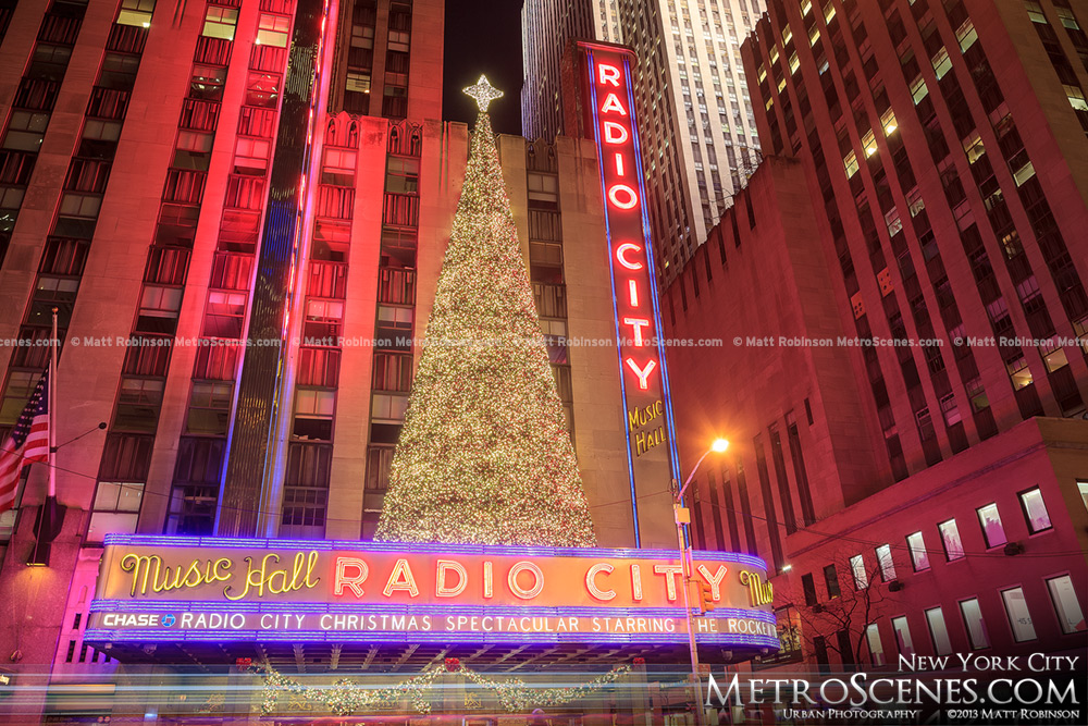 Christmas Tree on Radio City