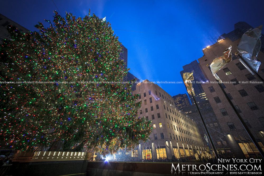 Under the Rockefeller Christmas Tree