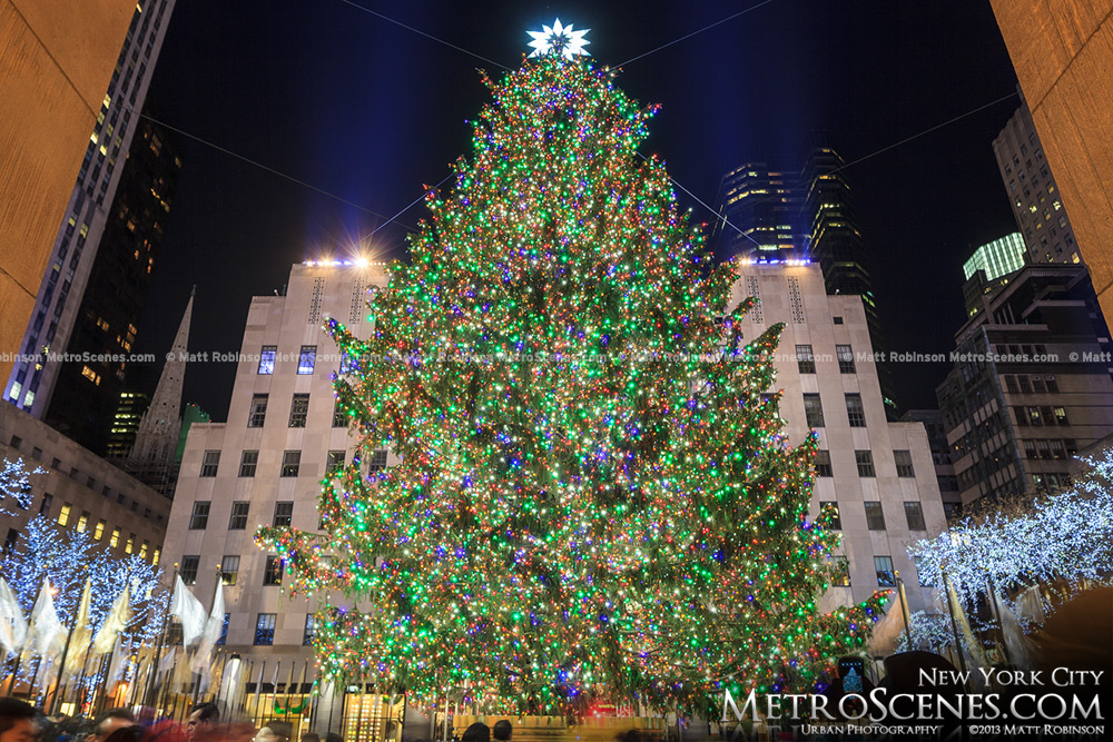 Rockefeller Center Christmas Tree in New York