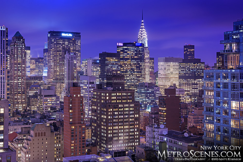 NY Cityscape with Chrysler Building