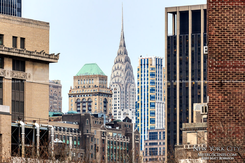 Chrysler Building as seen from the High Line