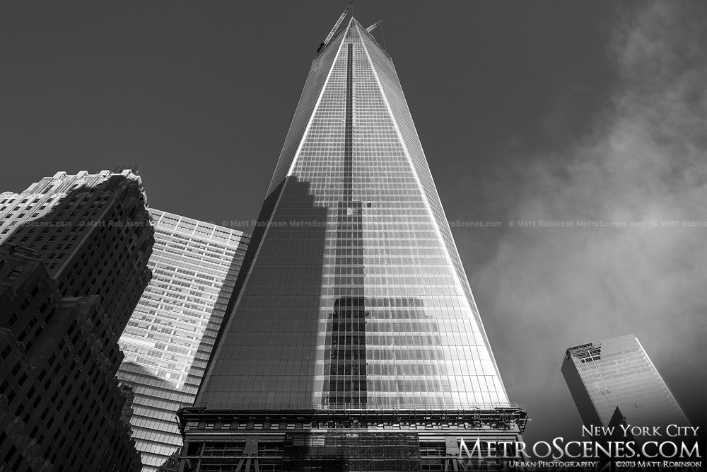 World Trade Center progress - May 2013