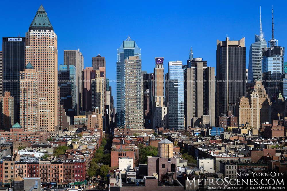 Rooftop view of Midtown Manhattan from Hell's Kitchen