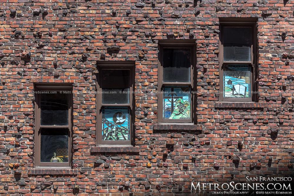 Stairwell windows