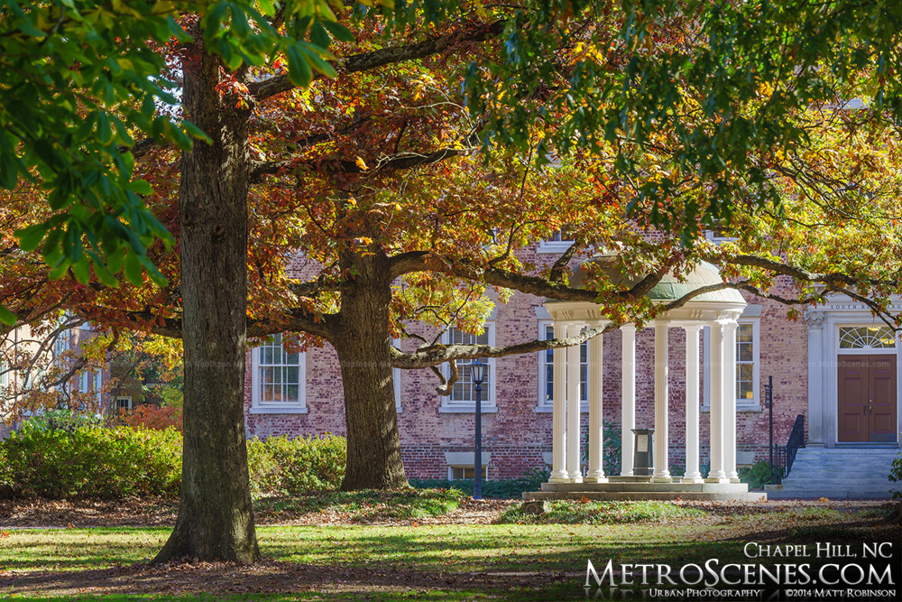 Fall colors at UNC Chapel Hill