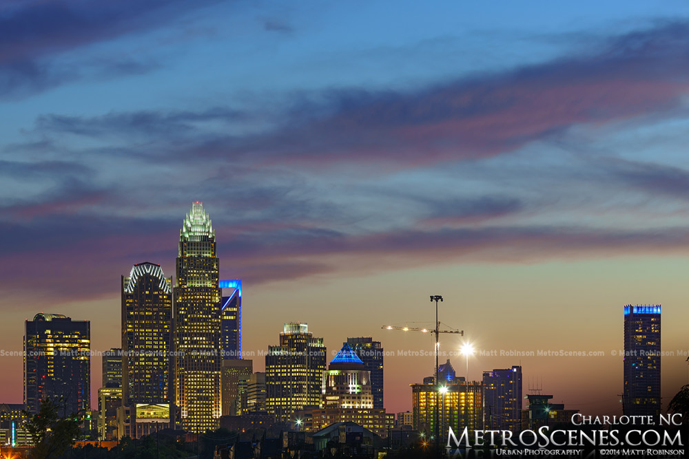 Charlotte NC from Noda