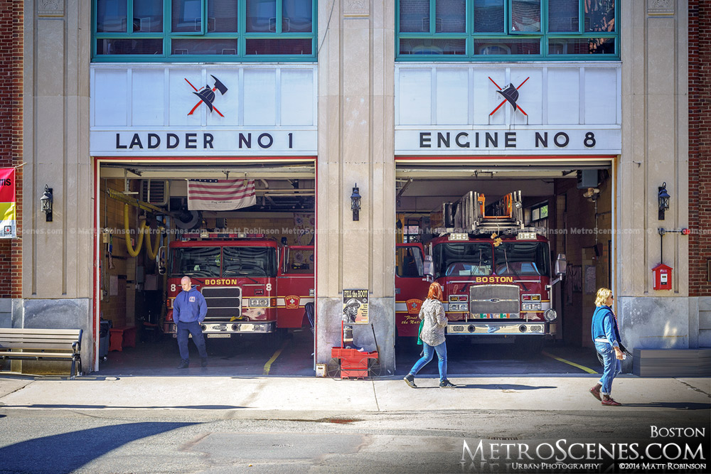 Boston Ladder 1 Engine 8