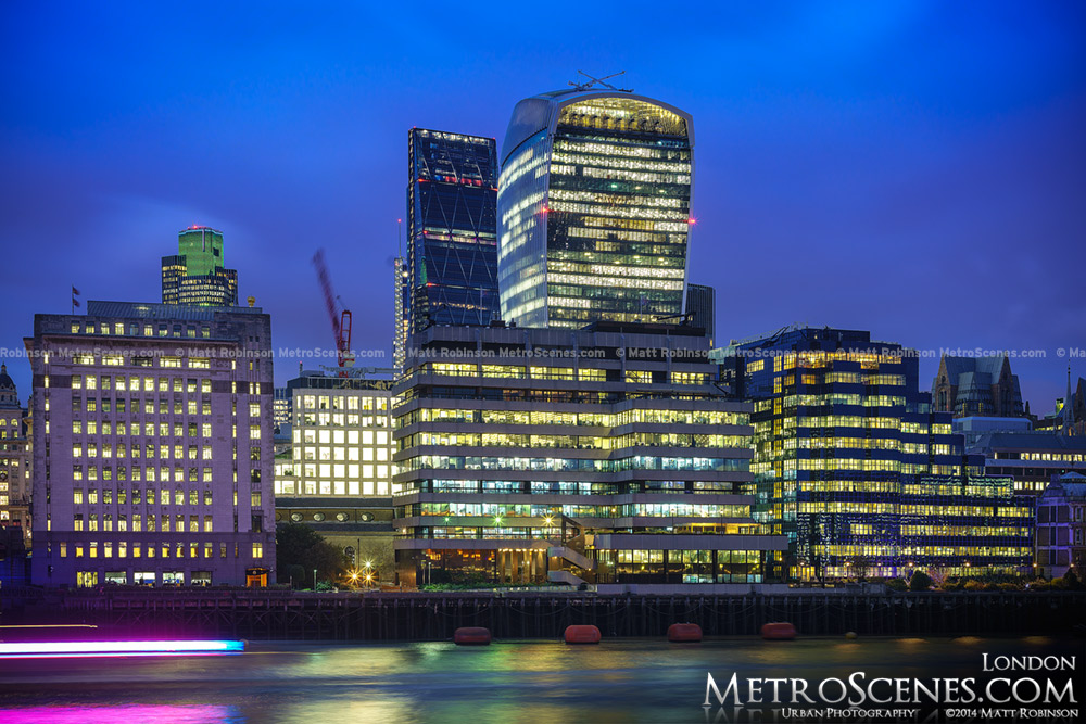20 Fenchurch Street and the London Skyline