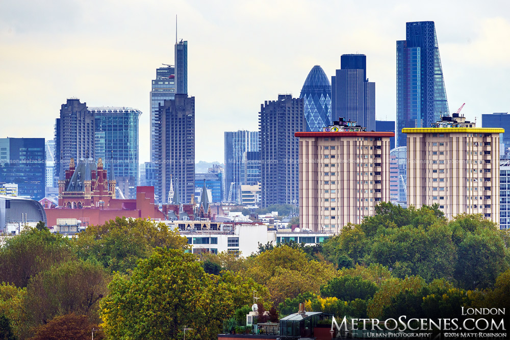 The City of London from Primrose Hill