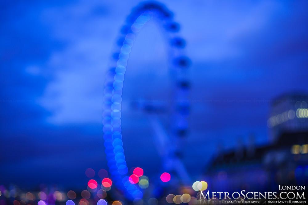 London Eye unfocused