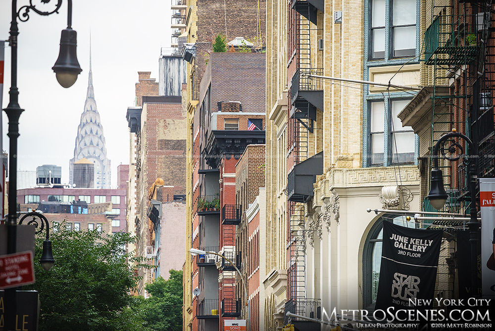 SOHO buildings with The Chrysler Building