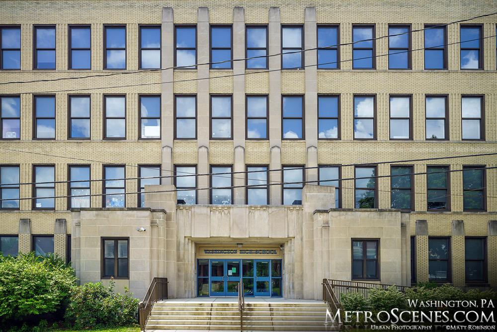 Washington High School entrance