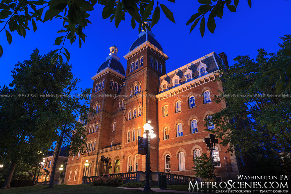 Old Main at Washington and Jefferson College