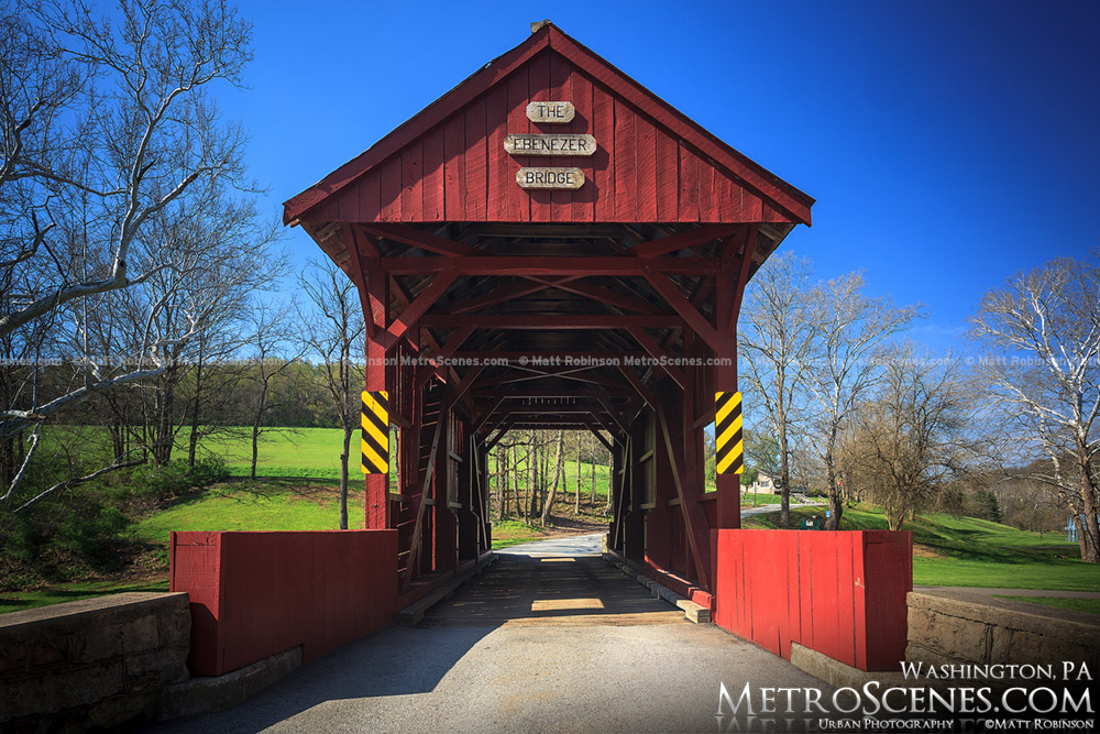 Ebenezer Covered Bridge in Washington County