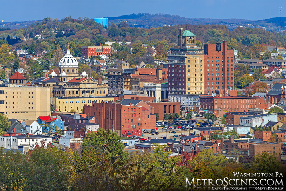 Washington PA Skyline