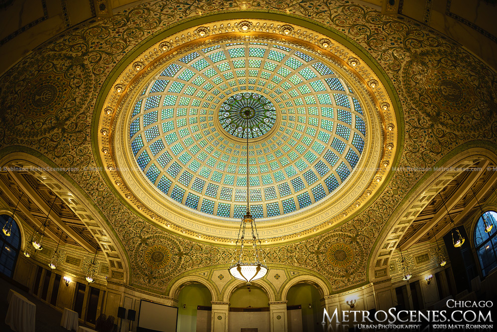 Rotunda in the Chicago Cultural Center